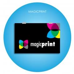 Affiche numérique publicitaire de chez magic-print