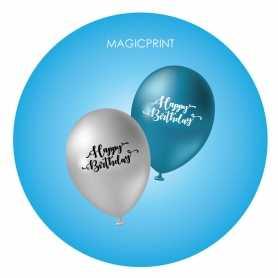 ballons publicitaire - pastel impression personnalisable