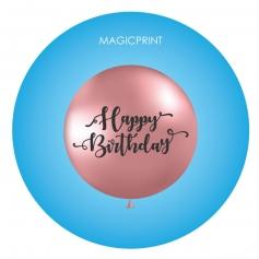 Grand Ballon Rond publicitaire - PASTEL 40 à 180 cm