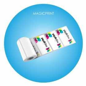 Stickers en rouleaux publicitaire - forme rectangle