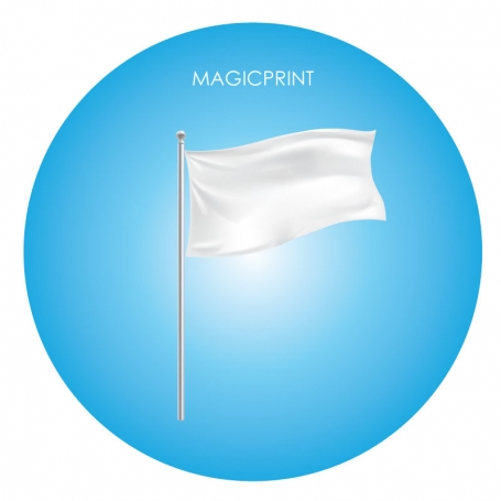 Flags with handle