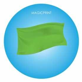 Drapeaux Publicitaire vert