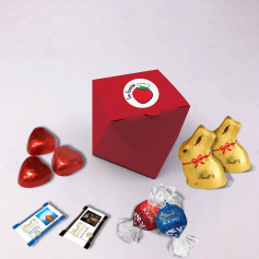 Diamond Box - Personalized with Lindt chocolates