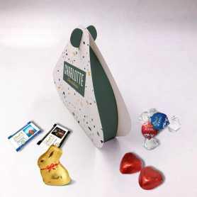 Boite Perle - Personnalisée avec chocolats Lindt