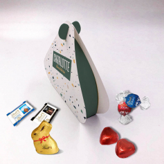 Pearl Box - Personalized with Lindt chocolates