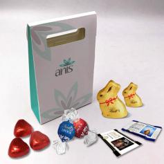 Boite à Délices - Personnalisée avec chocolats Lindt