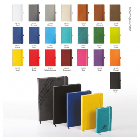 Plato Advertising Notebook - Color of the covers