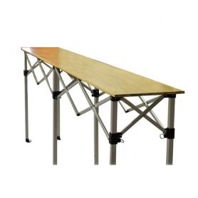 Table réglable – Plateau en bois