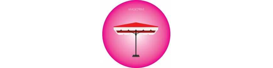 Umbrellas : square/rectangle