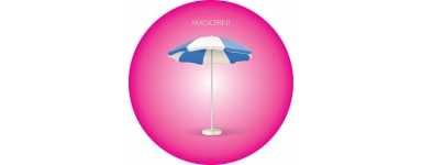 Parasols publicitaires: ronds