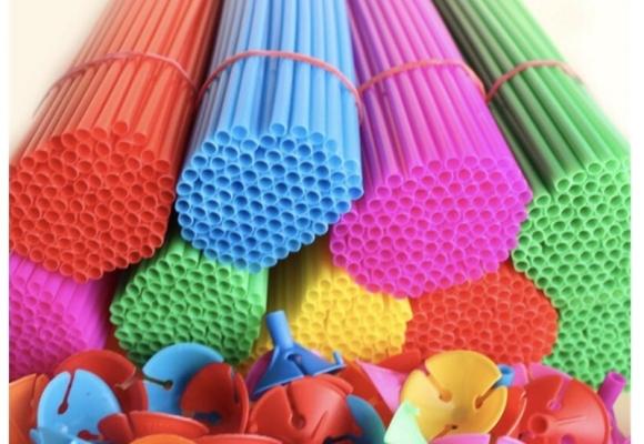 Pourquoi n'est pas utiliser les tiges plastiques pour ballons ?